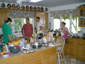In Grandpa's kitchen
