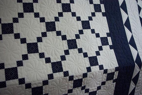 Beckys quilt detail