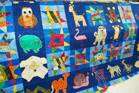 janes quilt finished