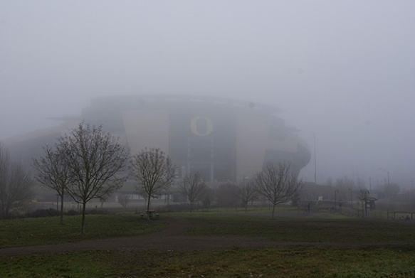 autzen in the fog